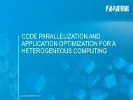 About heterogeneous computing - T-Platforms