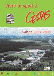 Vivre le sport à - Mairie de Cestas