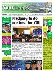 Pledging to do our best for YOU - West Yorkshire Police