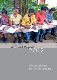 Annual Report 2012.pdf - UNESCO Institute for Lifelong Learning
