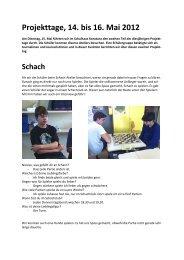 berichten - Schule Rothenburg