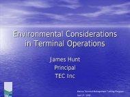 James W. Hunt - American Association of Port Authorities