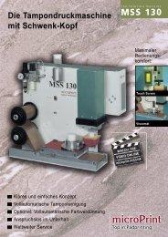 Datenblatt MSS 130 - Lang & Schmidt OHG
