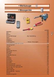 Sicherheits- und Funktionsprüfungen nach DIN VDE 0701