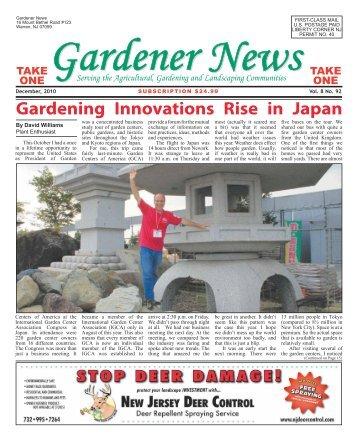 Gardening Innovations Rise in Japan - Gardener News