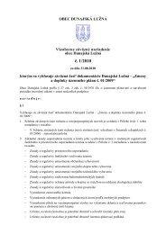 č. 1/2010 - Obec Dunajská Lužná
