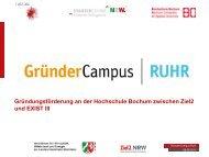 HS Bochum - FH Durchstarter