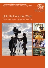 Skills That Work for Wales - Mutual-learning.eu