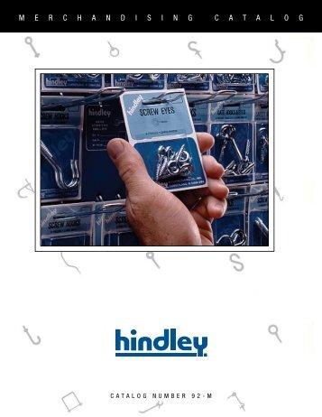 Hindley Merchandising Catalog - Electronic Fasteners Inc