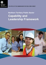 NTPS Capability and Leadership Framework - Office of the ...