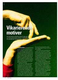 Vikarierende motiver Vikarierende motiver - Stof