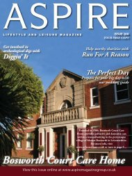 Bosworth Court Care Home - Aspire Magazine