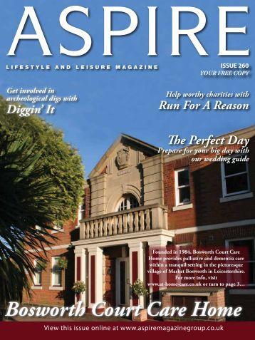 Bosworth Court Care Home - Aspire Magazine