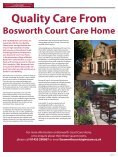 Bosworth Court Care Home - Aspire Magazine - Page 3