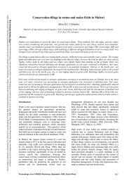 Conservation tillage in cotton and maize fields in Malawi - ATNESA ...
