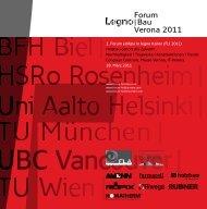 Forum |Bau Verona 2011 - Forum-HolzBau