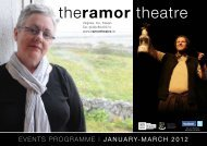 programmE | JANUARY-MARCH 2012 - Ramor Theatre