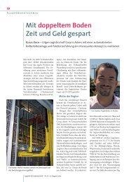 Pressebericht - Gilgen Logistics AG