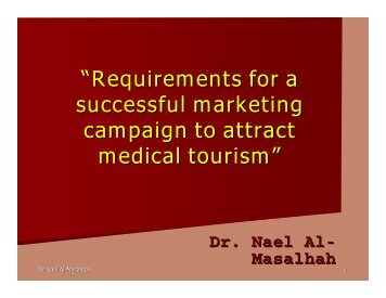 """Requirements for a successful marketing campaign to attract ..."