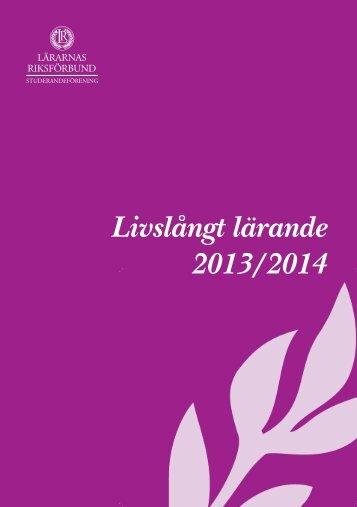 LR+Stud+Livslångt+lärande+2013-14