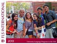 University Language Programs in the USA - FLS International