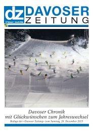 Davoser Chronik mit Glückwünschen zum Jahreswechsel - BUDAG