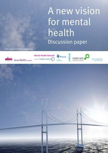 A new vision for mental health - NHS Confederation