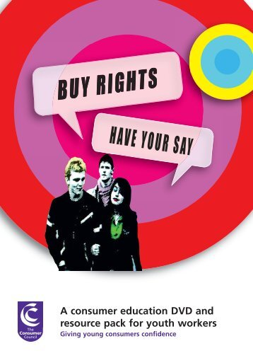 Buy Rights Have Your Say DVD - Consumer Council