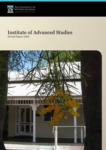 Institute of Advanced Studies - The University of Western Australia