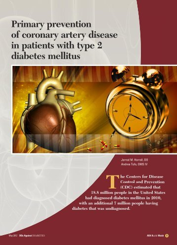 Primary prevention of coronary artery disease in patients ... - CECity
