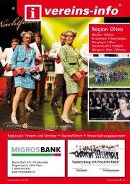 Region Olten - Vereins-info