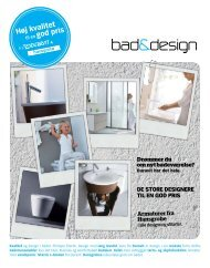 bad & designs e-nyhedsbrev