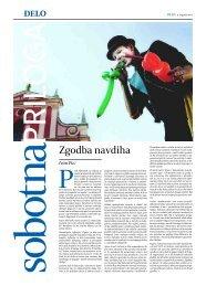 Zgodba navdiha - Glas Slovenije