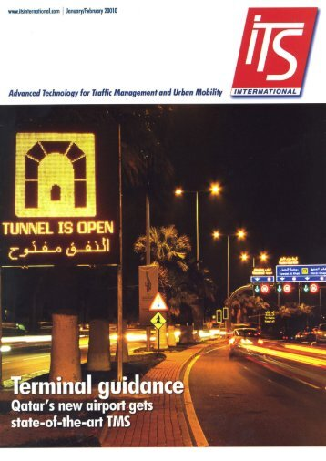 to see a featured article in ITS International magazine - Traffic Tech