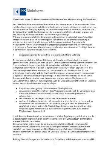 Merkblatt Zur Umsatzbesteuerung In Der Bauwirtschaft Ihk