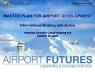 Master Plan for Airport Development - Information Briefing with Action
