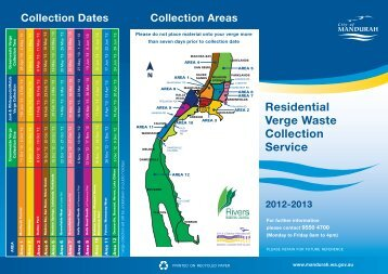 CoM Verge Collections 2012 - City of Mandurah