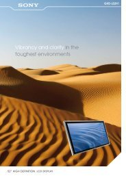 Vibrancy and clarity in the toughest environments - ELVIA Display