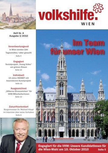 VHW 3_10 Seiten 1-8_VHW 1-8.qxd - bei der Volkshilfe Wien
