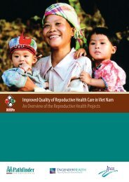 Improved Quality of Repoductive Health Care in Viet Nam An ...