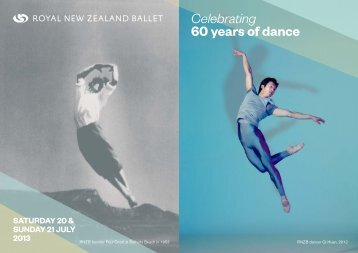 Celebrating 60 years of dance - Royal New Zealand Ballet