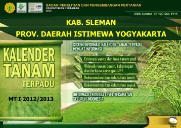 Kalender Tanam Sleman - BPTP Yogyakarta