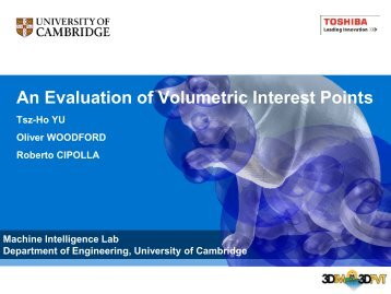 An Evaluation of Volumetric Interest Points