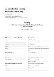 Antrag Schnuppermitgliedschaft.pmd - Zahntechniker-Innung Berlin ...