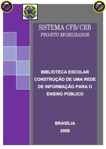SISTEMA CFB/CRB - Conselho Federal de Biblioteconomia