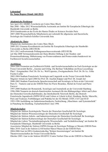 Download - Centre Marc Bloch - Humboldt-Universität zu Berlin