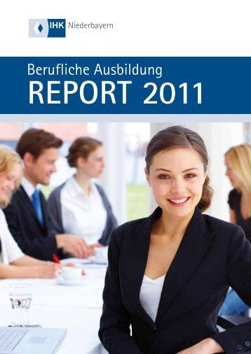 Ausbildungsverhältnisse 2010 nach Branchen - IHK Niederbayern