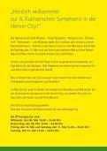 Programmheft - Kulinarische Symphonie Herne - Seite 3