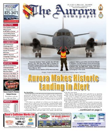3214 news.indd - The Aurora Newspaper