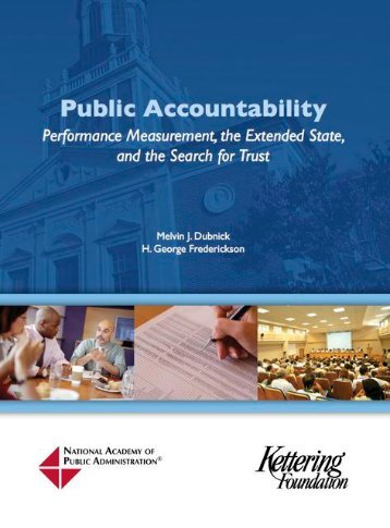 Public accountability - National Academy of Public Administration